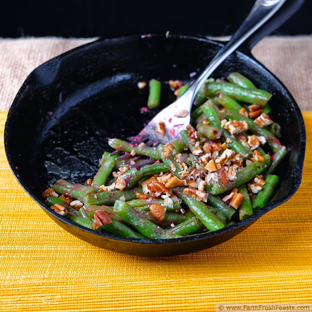 Green Beans With Pecans And Cranberries Recipes — Dishmaps