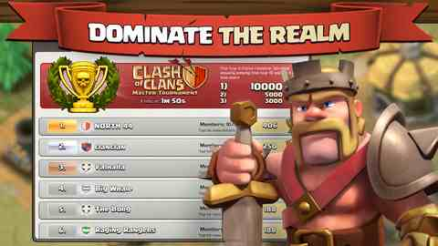 Clash of Clans, iPhone Action Games Free Download, iPhone Applications