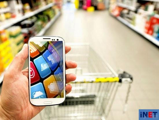 Mua hàng trực tuyến qua Smartphone tăng mạnh