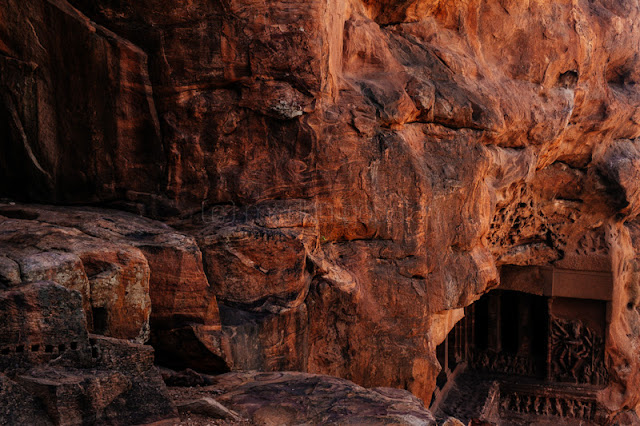 Rock cut cave temples of Badami