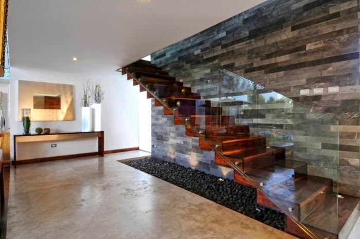 Floating Staircase Design, Modern Staircase Of Wood