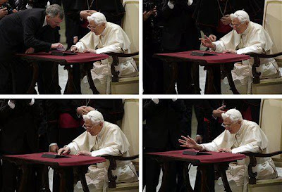 THE POPE'S FIRST TWEET