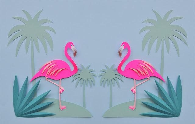 Chloe Fleury, papier en 3D
