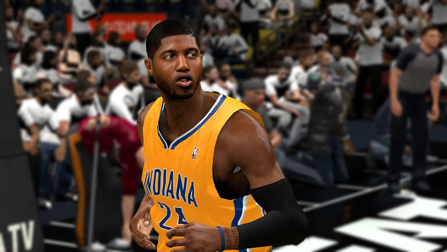 NBA 2K14 Paul George Hair Playoffs Update
