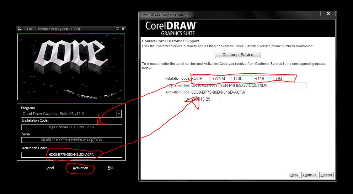 corel draw x6 crack  utorrent