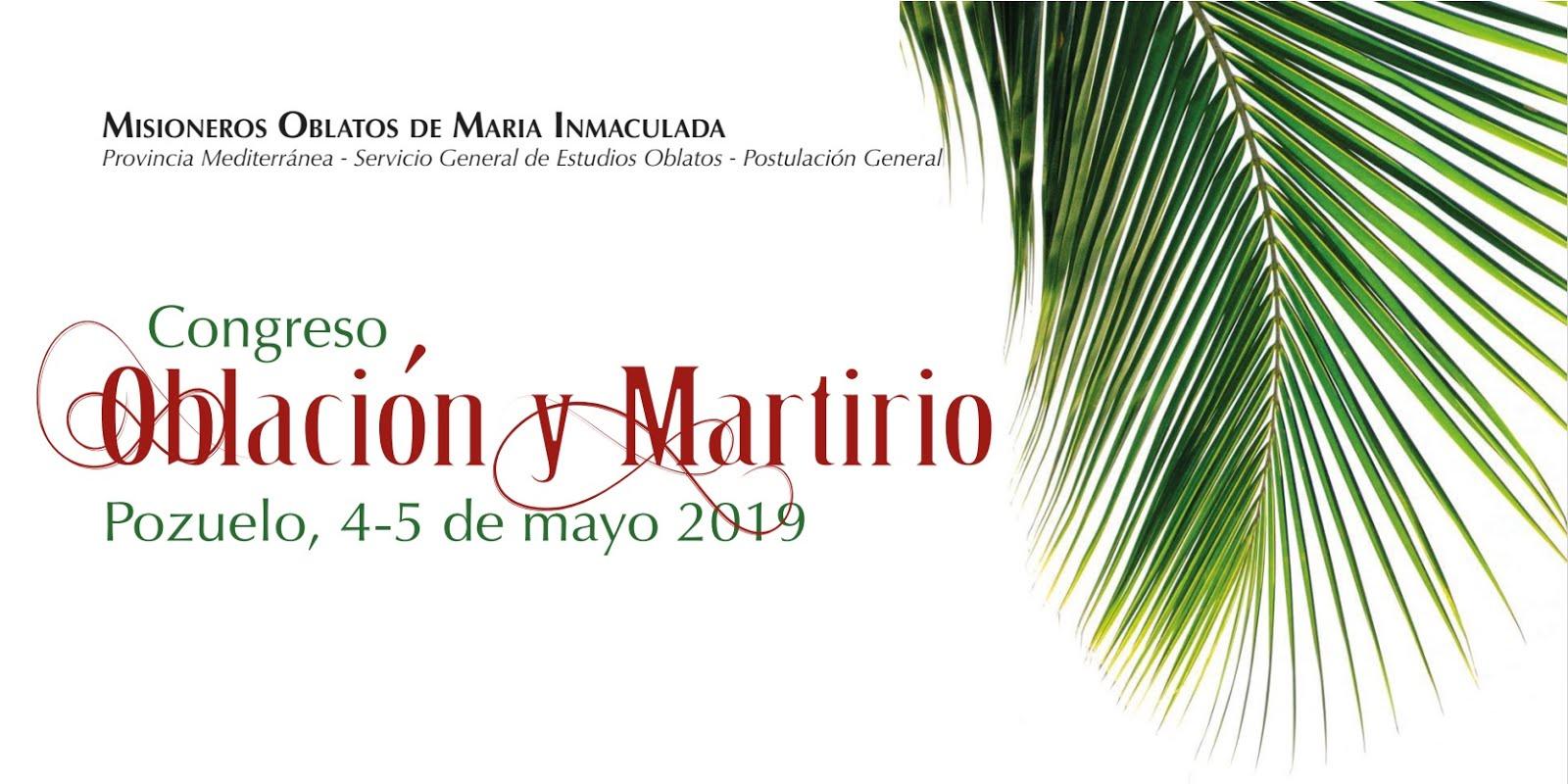 """Congreso """"Oblación y Martirio"""""""