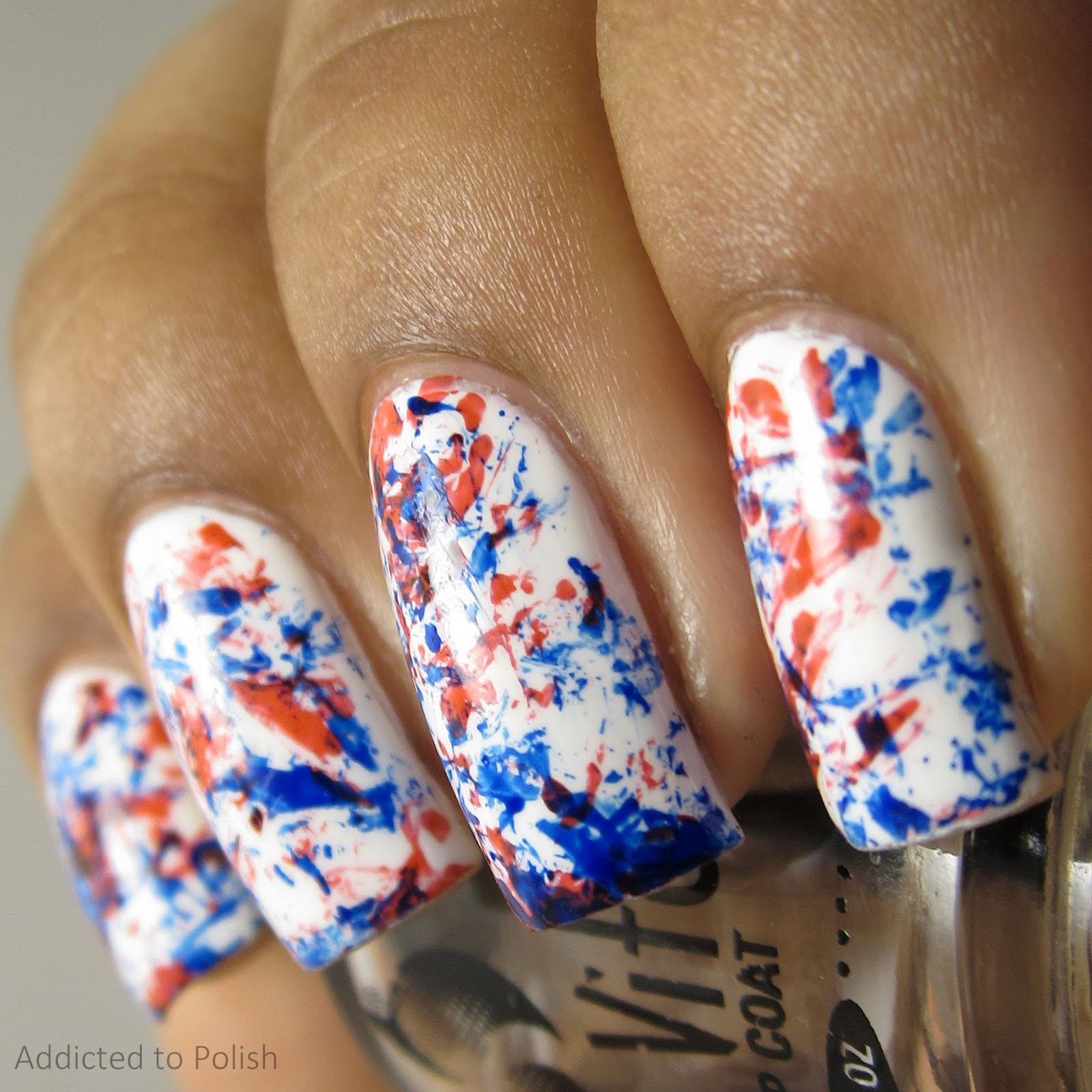 fourth-of-july-saran-wrap-nail-art-manicure