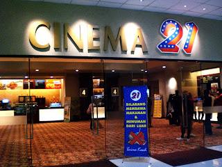 Jadwal Bioskop Hari Ini