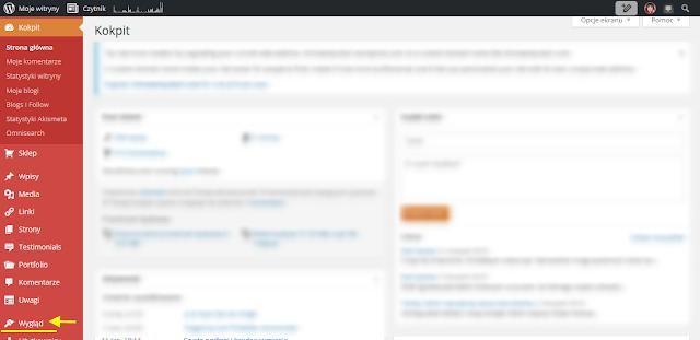 Wordpress - Kokpit