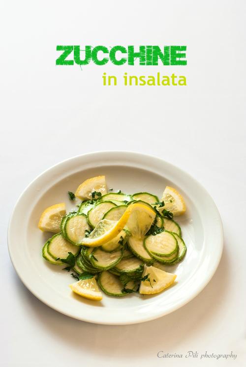 Zucchine in insalata