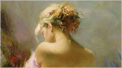desejo sexual feminino tela desejo do pintor italiano pino daeni