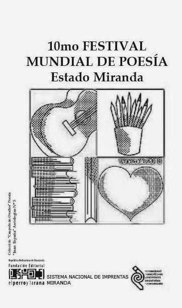 10mo Festival Mundial de Poesía Sede Miranda