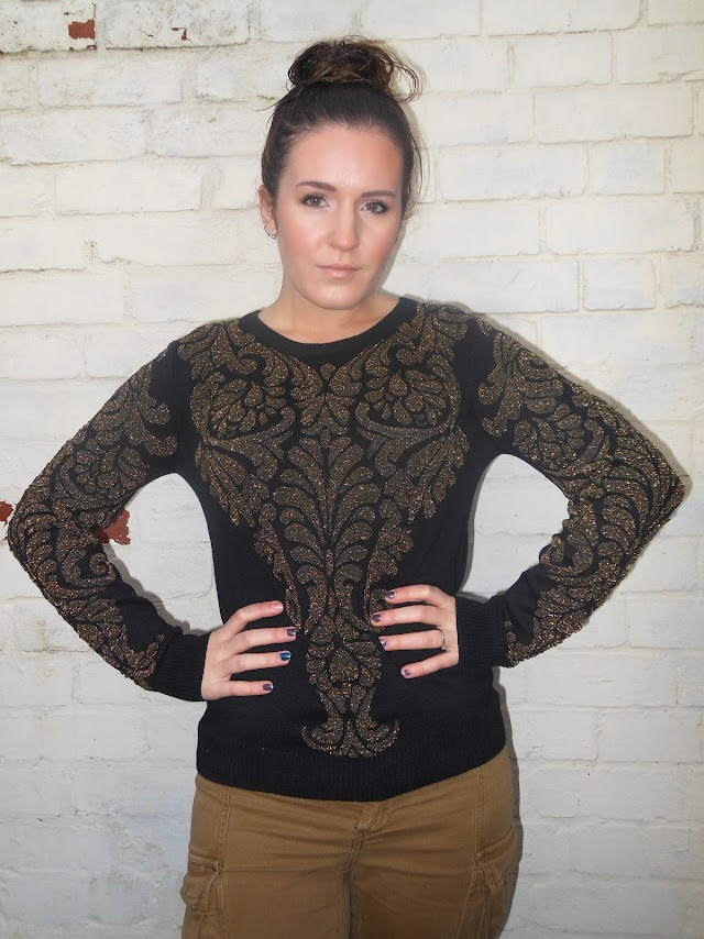 UK Fashion Blogger Republic Baroque Jumper