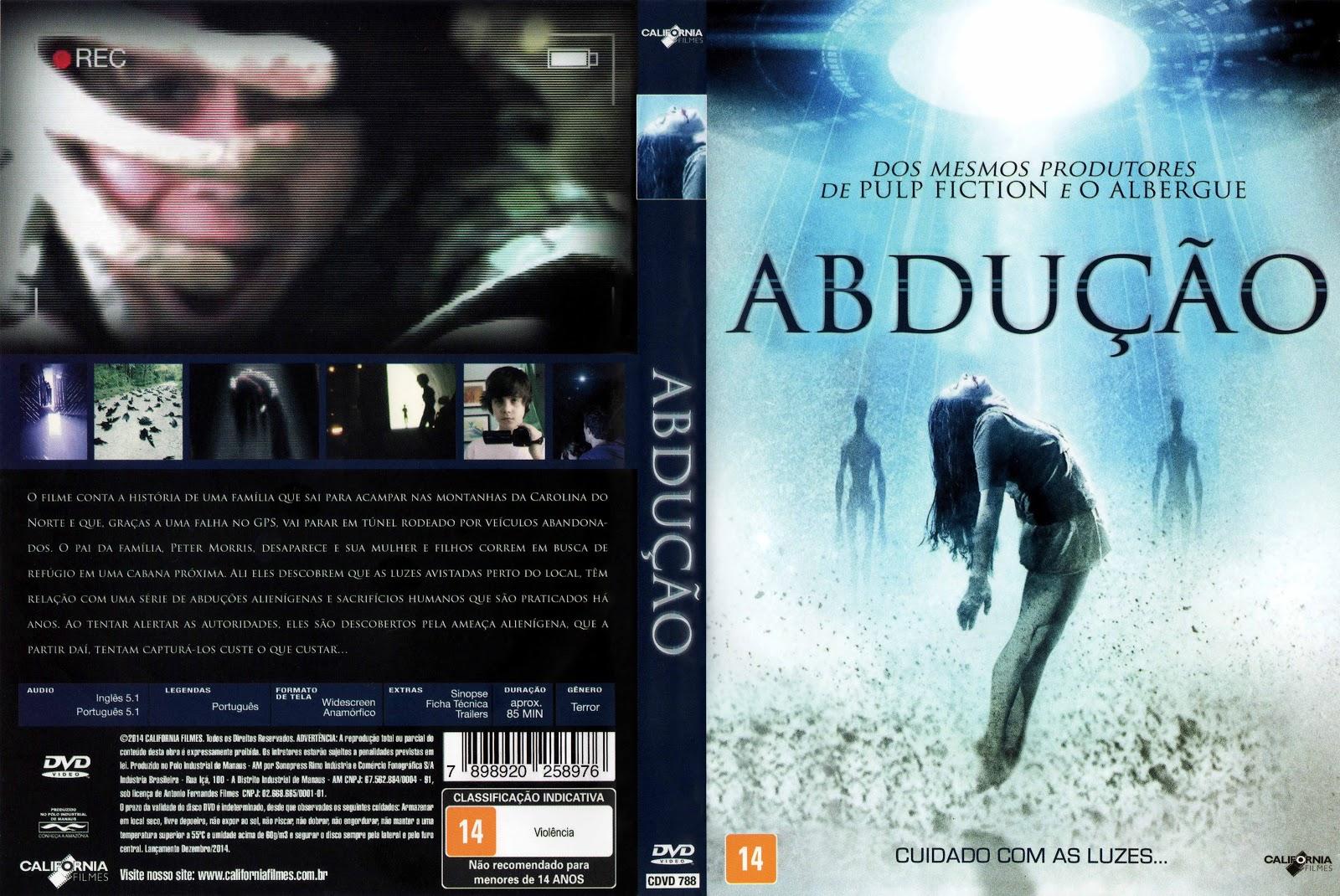 Capa DVD Absução