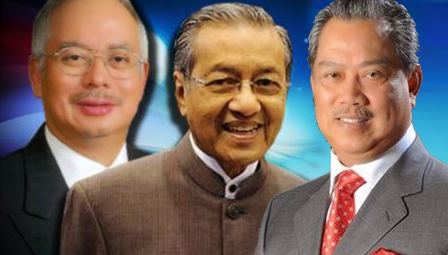 Muhyiddin Sokong Mahathir