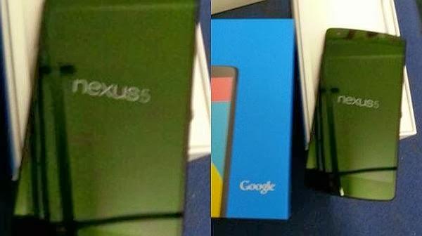 Nexus 5 Sudah Beredar di Dunia Pasaran