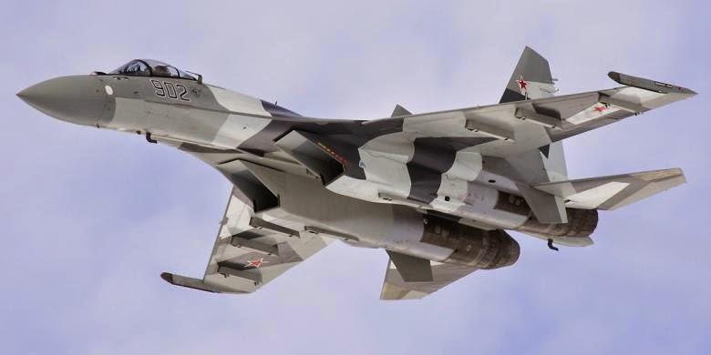 Rusia Berharap Sukhoi SU-35 Lengkapi Armada Indonesia