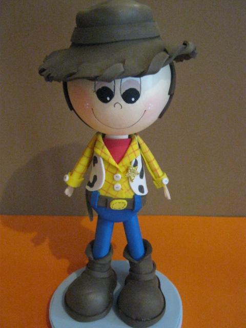 Woody Toy Story Recordatorios Fiestas Infantiles Foami Goma Eva