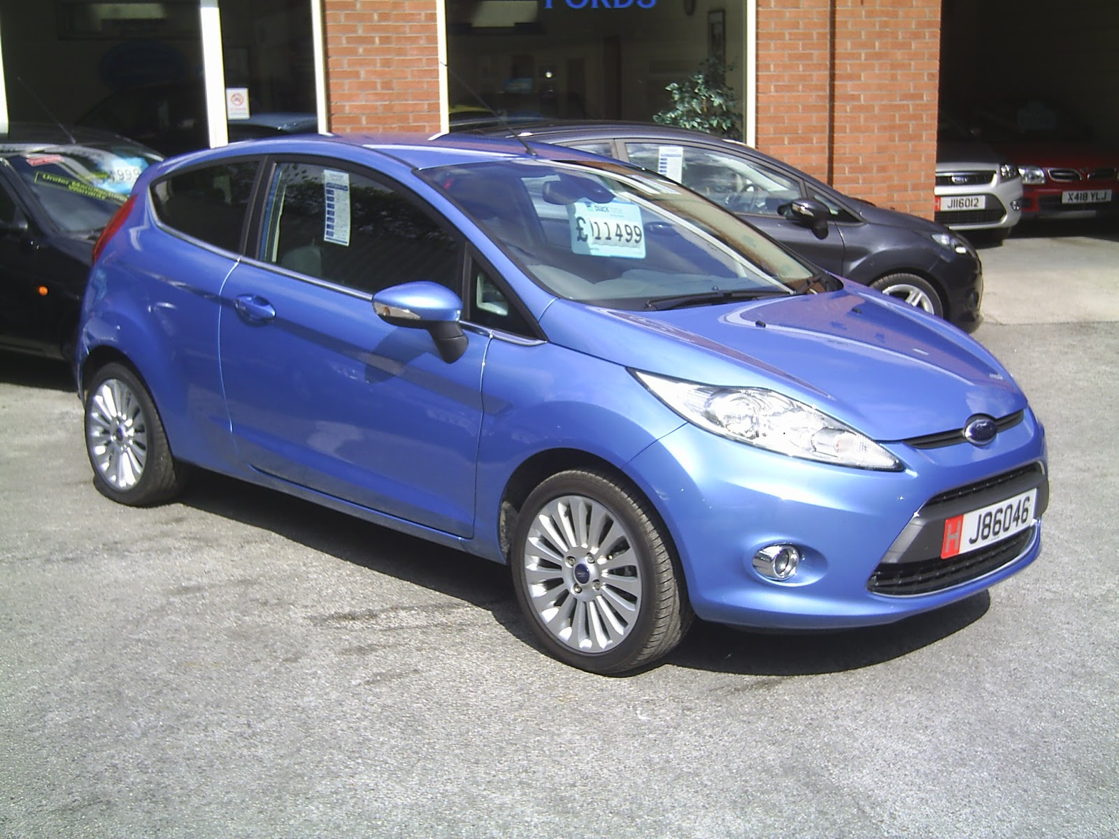 Ford Cars Ford Fiesta Colours