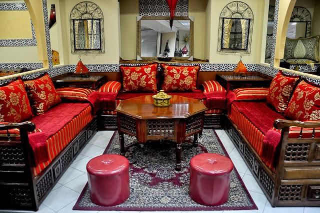 Décoration Salon Marocain 2015  Déco Table Maroccaine