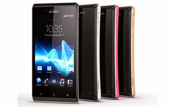 Harga Dan Spesifikasi Sony Experia J ST26i Update Terbaru
