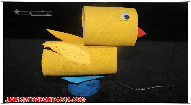 Sugestão de Aula com Adivinhas e Confecção de Pato com Material Reciclável