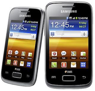 Samsung Galaxy Y Duos S6102 Spesifikasi Harga