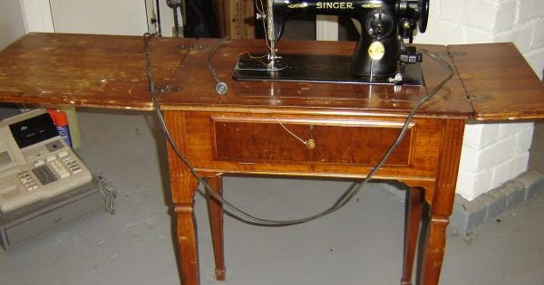 - Mr. Thrifter: Vintage Sewing Table? Pass. . . No Profit Here.