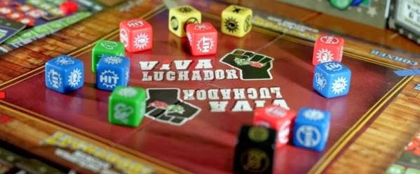 Interview with Mark Rivera, creator of Luchador: Mexican Wrestling Dice