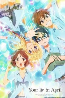 Anime Shigatsu wa Kimi no Uso