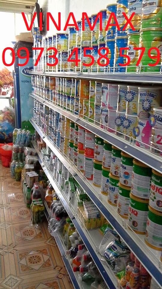 kệ bán hàng tại Quảng Ninh
