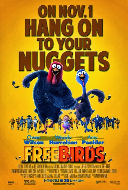 Free Birds poster animatedfilmreviews.blogspot.com