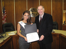 Miss New York Become Honorary Watertonian During City Hall Visit