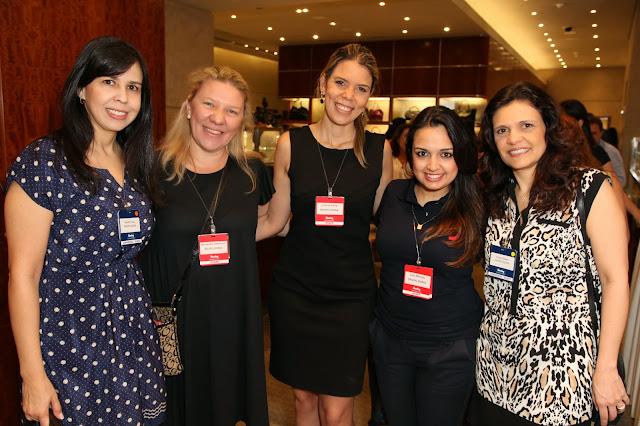 Bia Cruz, Ale Sambrana, Juliana Censi, Lais Macedo and Vivian Salaro