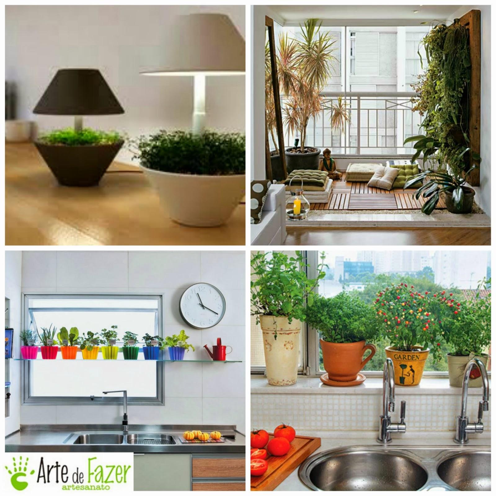 Traga as plantinhas para dentro de casa.