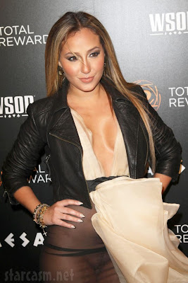 Wardrobe Malfunction: Adrienne Bailon (Rob Kardashian's ex