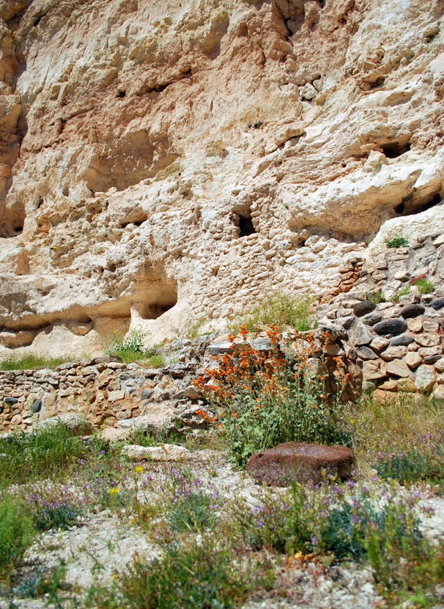 Montezuma's Castle | Ancient Pueblo Ruins near Sedona, Arizona | Em Then Now When
