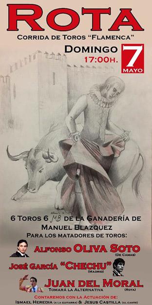 "ROTA 07-05-2017. CORRIDA DE TOROS ""FLAMENCA""."