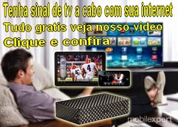 Tenha internet com o sinal da tv