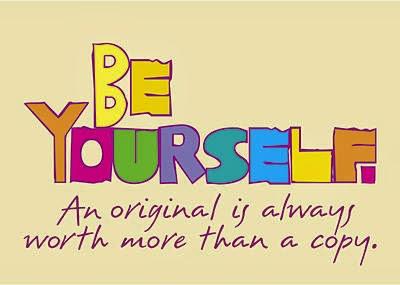 Be Yourself Itu Lebih Baik