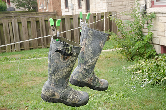 rubber boot for hunting