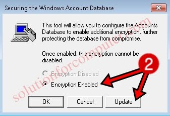 how to set a password to open this computer