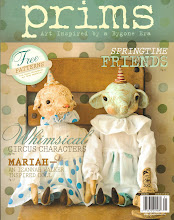My Paper Clay pieces in the Winter 2012 issue of PRIMS magazine