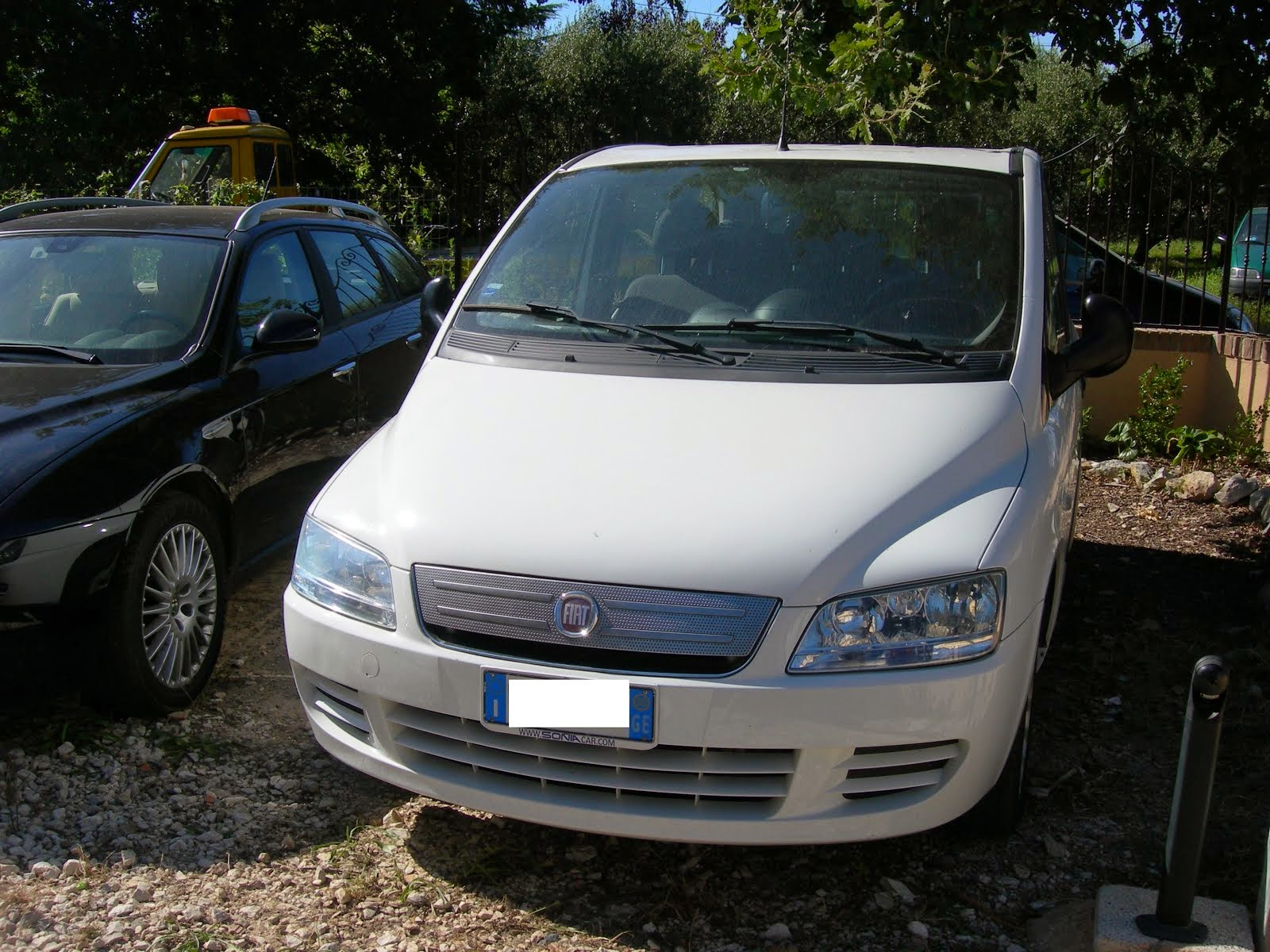 Fiat Multipla 1.6 Natural Power Metano 2008 80.0000 km mod.dinamyc 7.500,00 euro