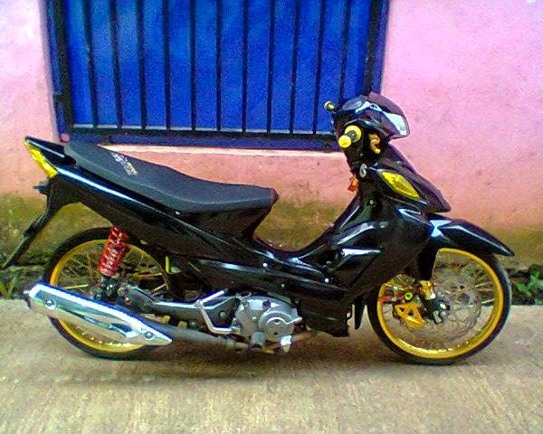 modifikasi shogun sp