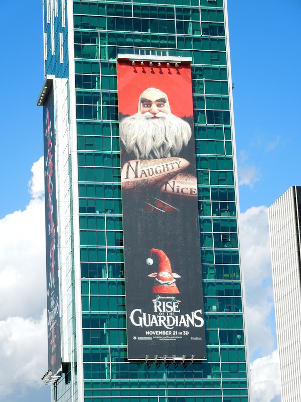 Giant North Rise of Guardians billboard