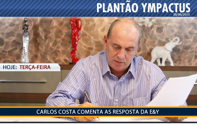 NÃO PERCA HOJE! PLANTÃO YMPACTUS Nº 52