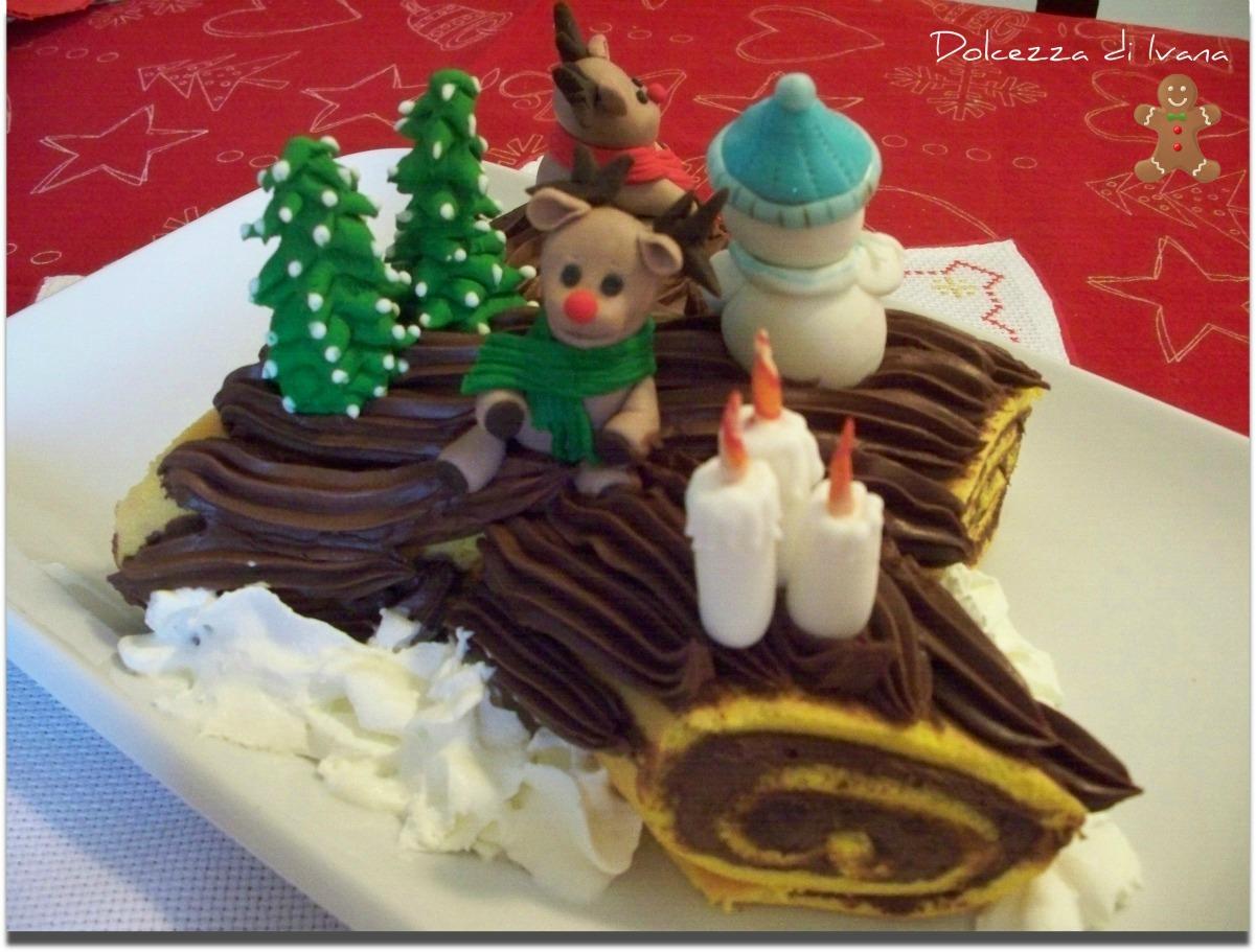 Il dolce natale pane con burro e zucchero for Decorazioni zucchero a velo