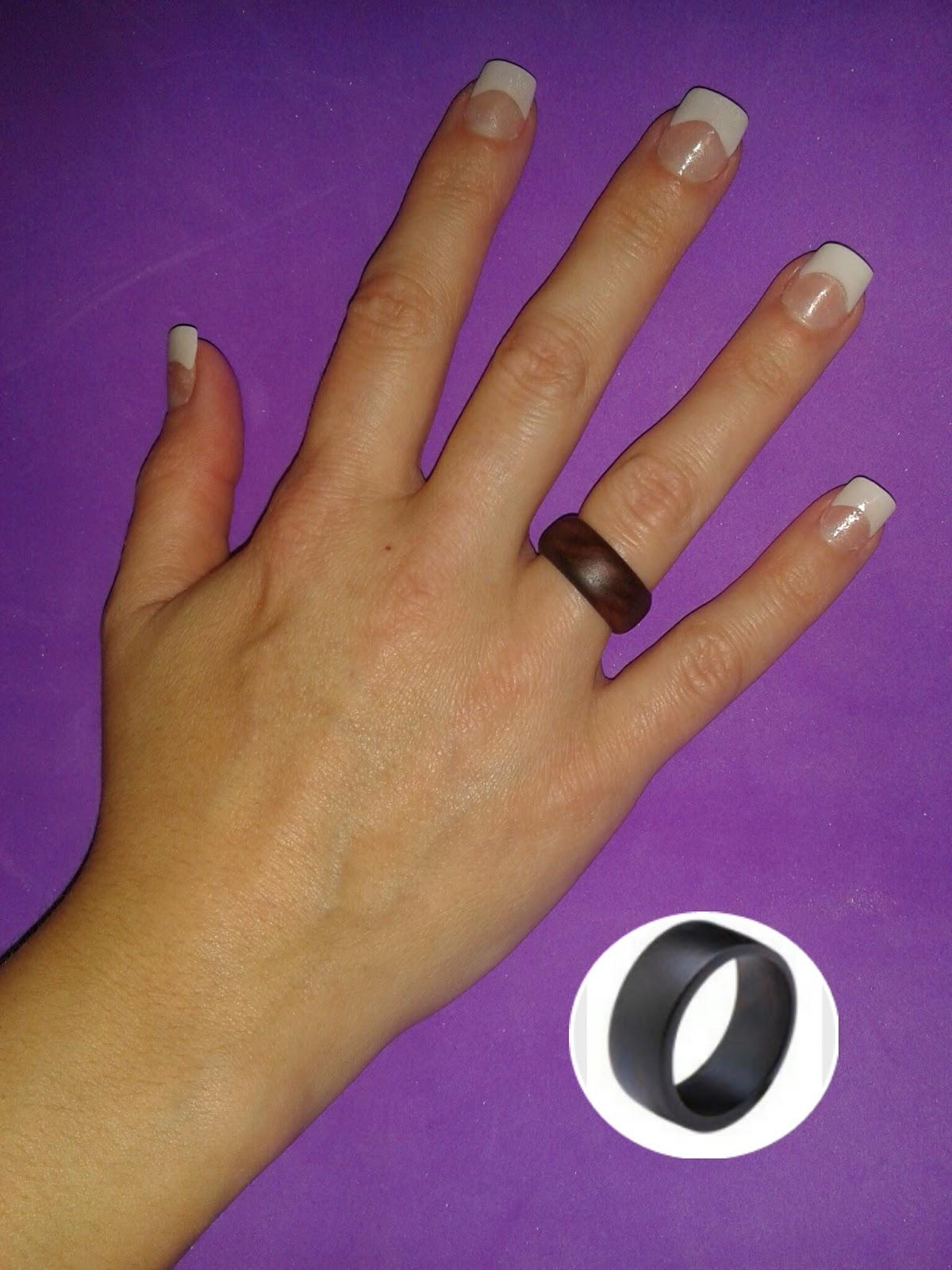 anillo piedras azul anillo coco
