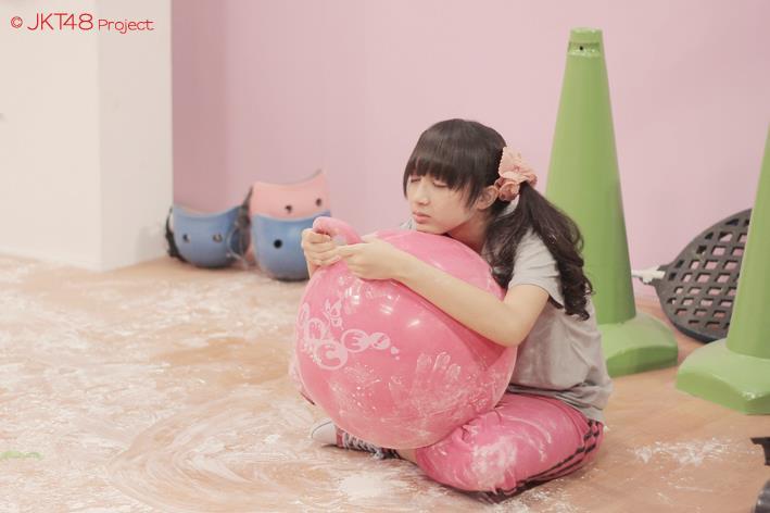 Ahan tertidur di JKT48 school episode 2